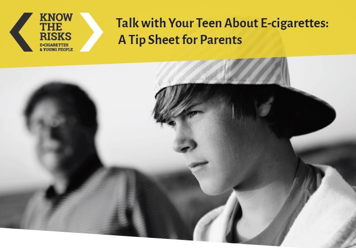 Talk to Your Teens About E-Cigarettes