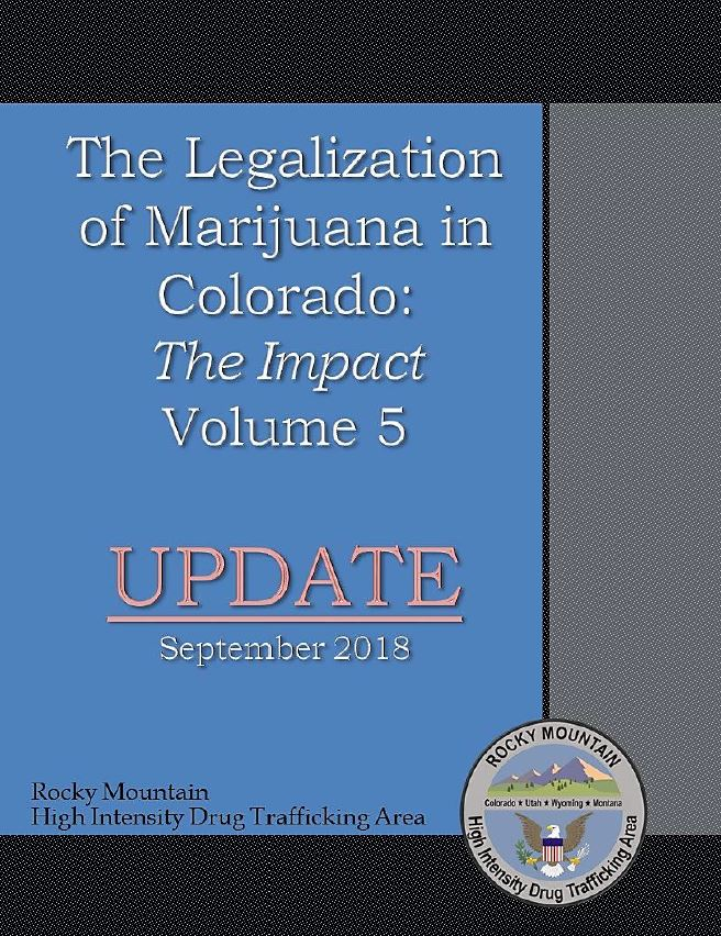 Impact of MJ Legalization in Colorado HIDTA Report August 2018