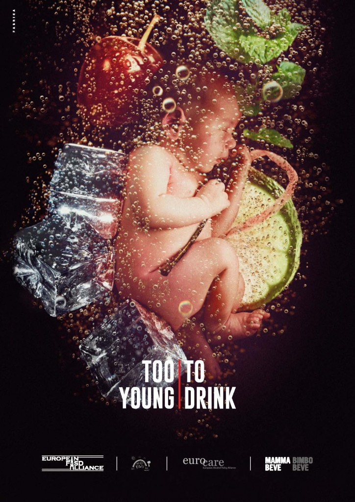 Too Young to Drink ad