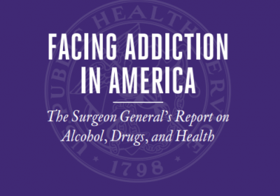 2016 US Surgeon General's Report Facing Addiction