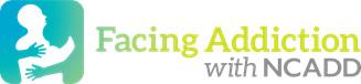 Facing Addiction With NCADD Logo