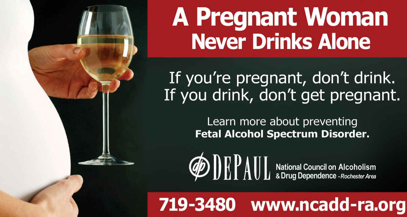 Fetal Alcohol Spectrum Disorder Billboard Ad