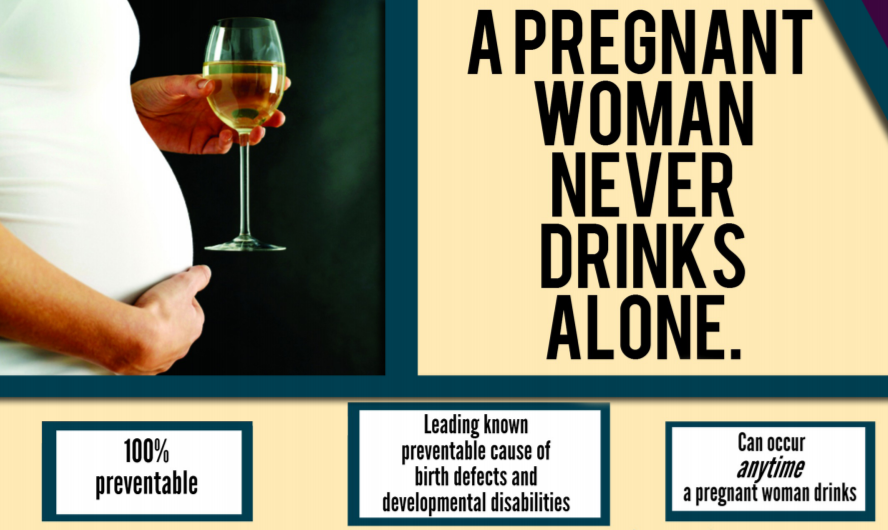 Fetal Alcohol Spectrum Disorder Infographic