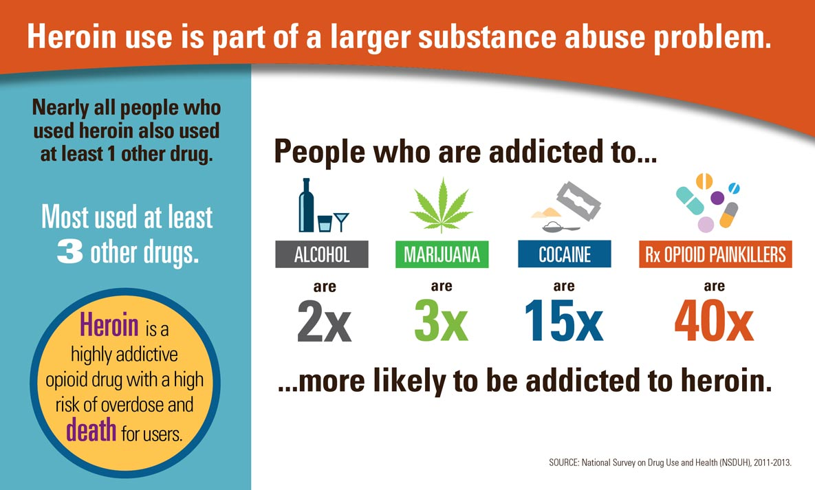 Heroin Use Infographic