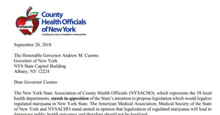 New York State Association Of County Health Officials
