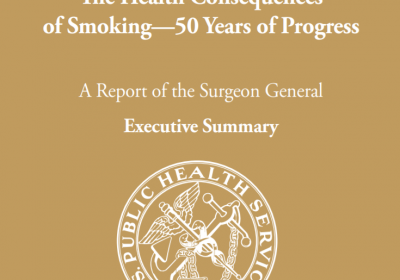 Surgeon General's Report On Smoking And Heatlh 50th Anniversary