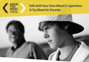 Talk With Your Teen About E Cigarettes 300x209