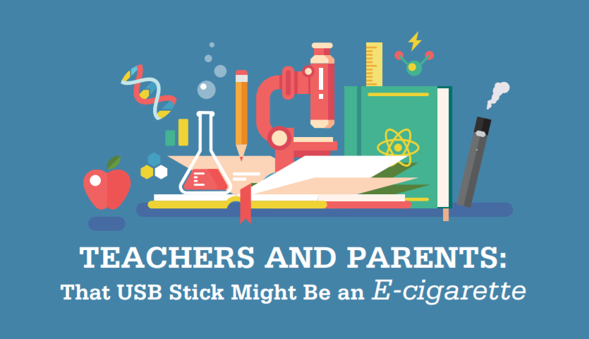 Teachers And Parents That USB Stick Might Be An E Cigarette
