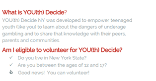 Youth Decide FAQs NCADDRA