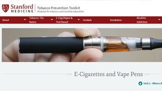 Stanford Medicine E-Cigarettes