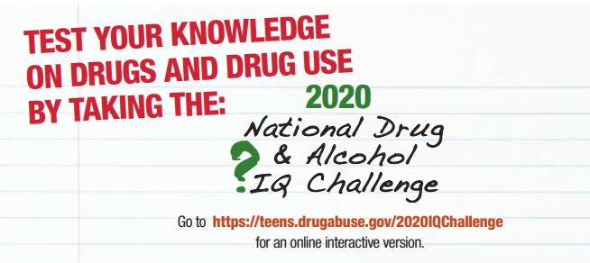 National Drug & Alcohol IQ Challenge