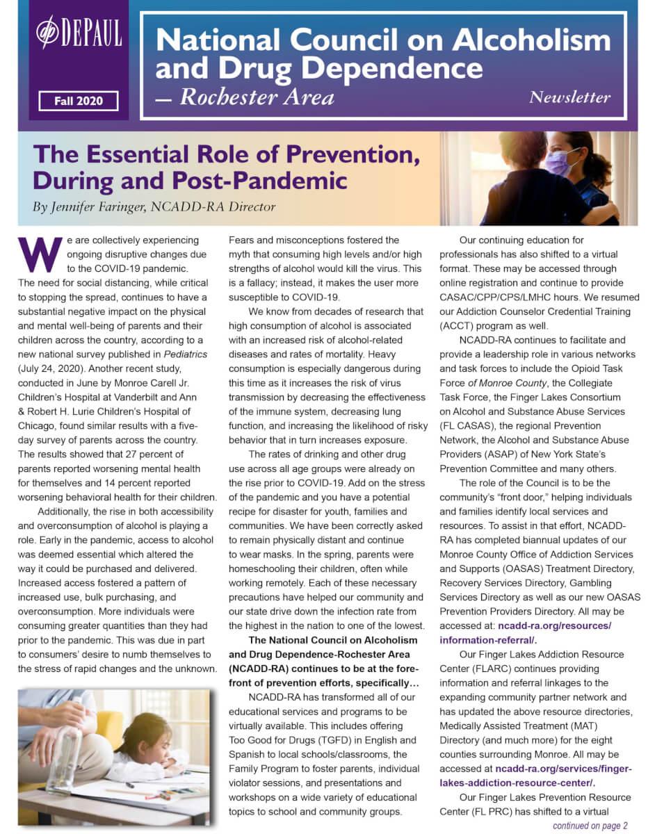 NCADD RA Newsletter Fall 2020 For Web 1