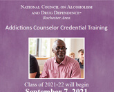 Addictions Counselor Credential Training (ACCT) Program 2021 2022