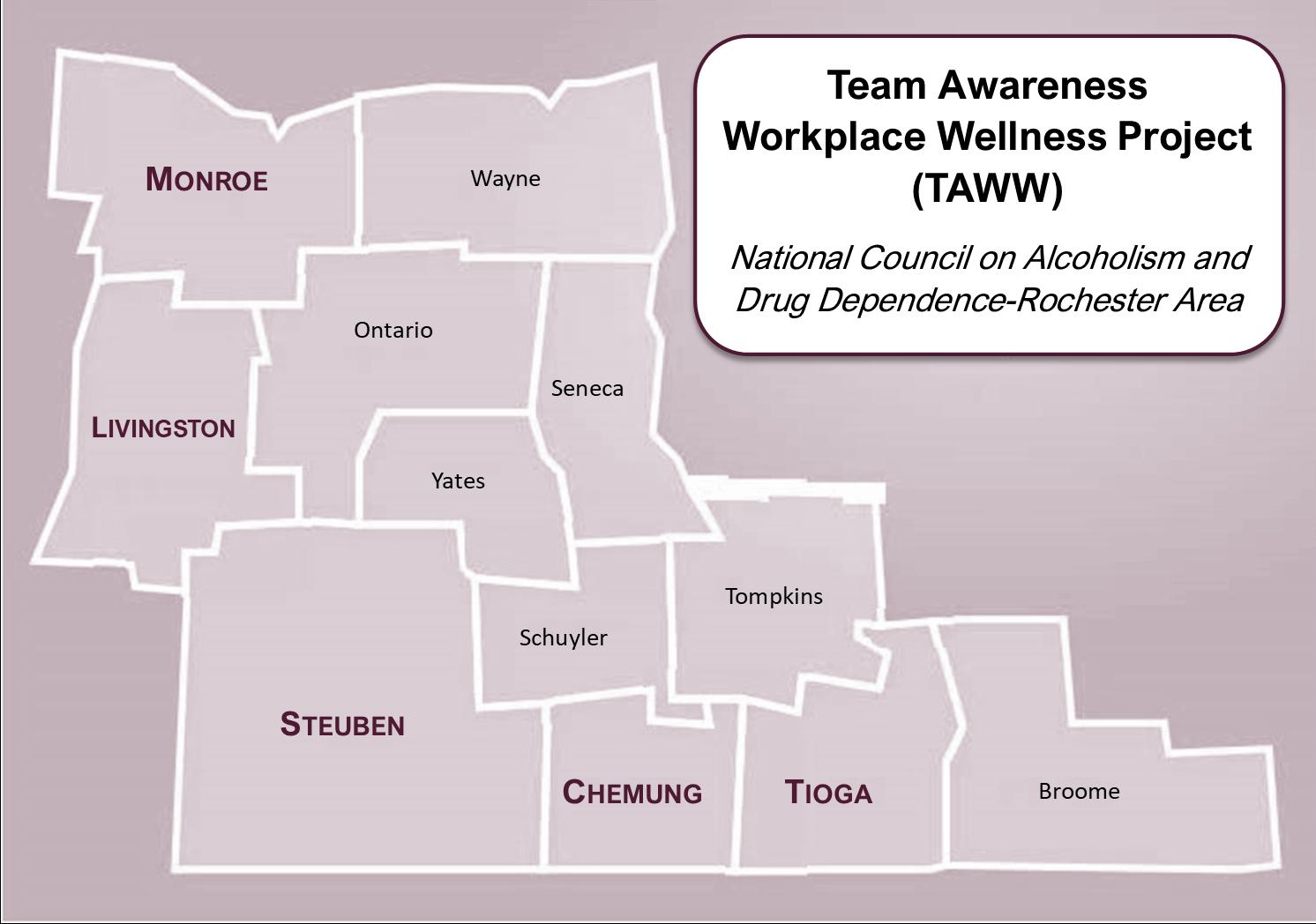 Team Awareness Workplace Wellness Project Map