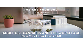 Department Of Labor Adult Use Cannabis And The Workplace Edited